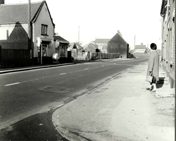 The west side of the High Street in 1972 [Z50/130/24]